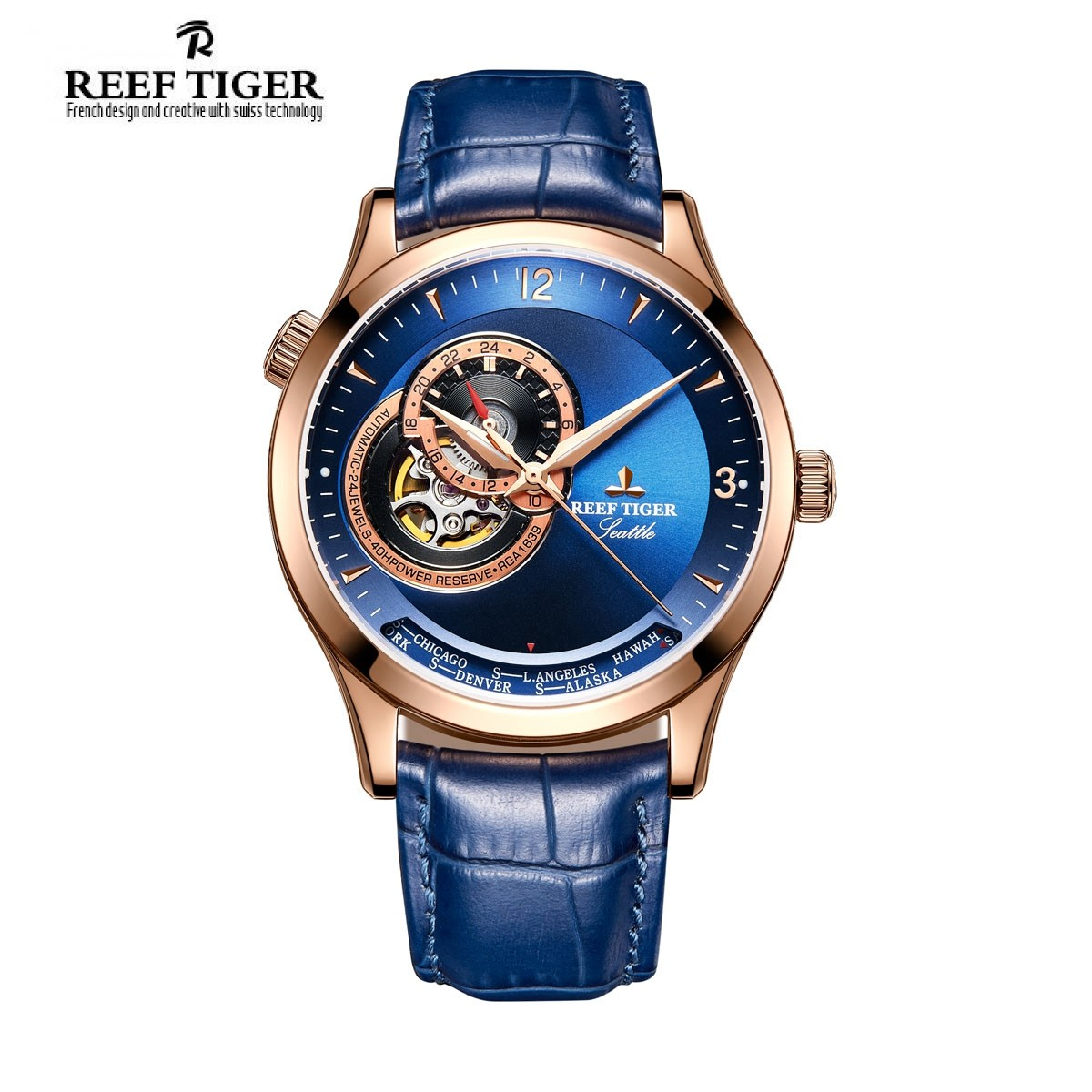 Đồng Hồ Reef Tiger RGA1693-PLL